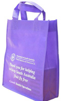 Purple Promotional Bag Sydney