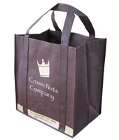Dark Brown Shopping Bag