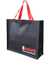 Extra Large Black Bag With Nylon Handles